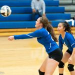 Girls Varsity Volleyball beats Whitehall-Yearling 3 – 0