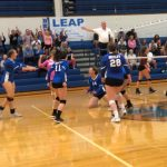 Girls Varsity Volleyball rolls Columbus Academy 3 – 0