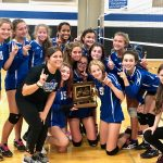 8th Grade Volleyball defeats Columbus Academy to win MSL Championship
