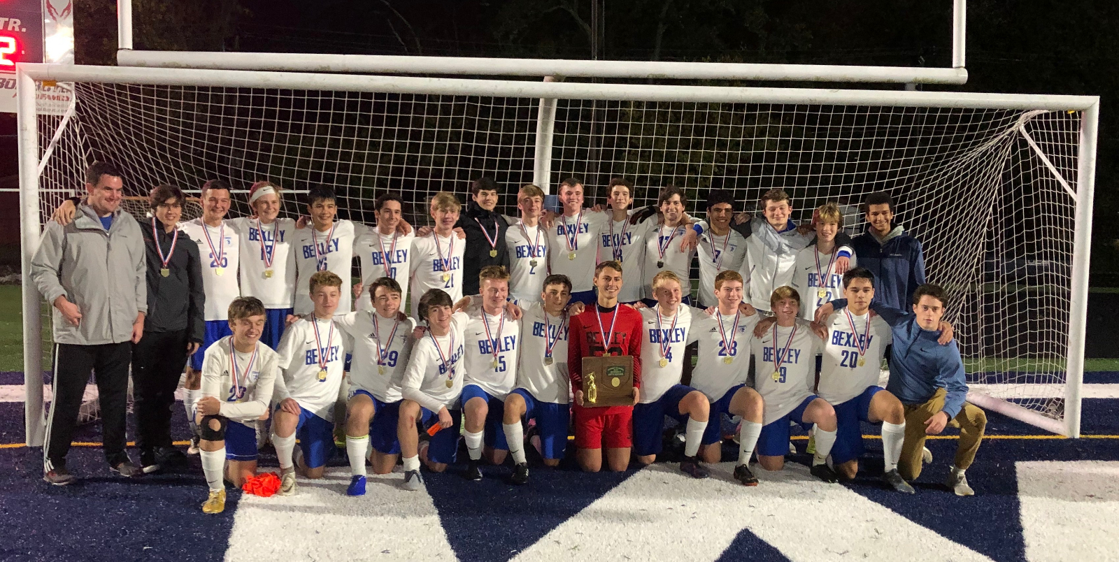 Boys Soccer Wins Second Straight District Title