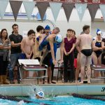 Bexley Swimmers Sweep Senior Day