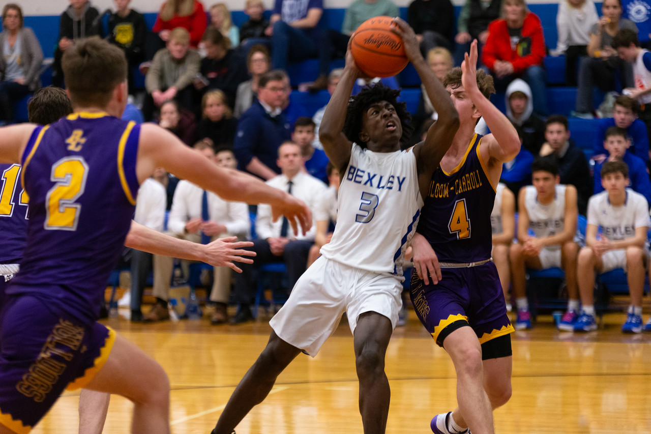 Boys Basketball (@BexleyBBK) Edges Independence in Late Game Classic