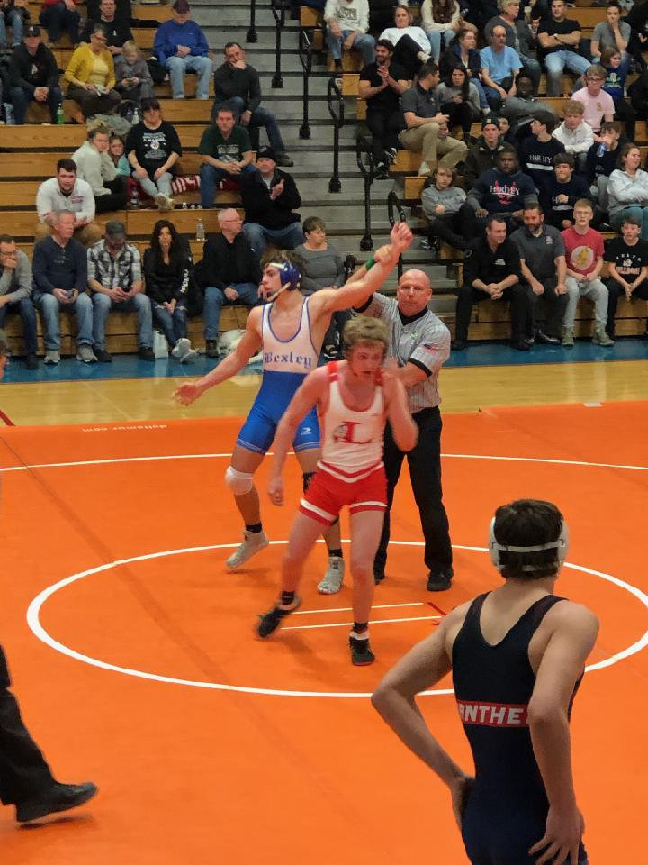 Carter Brenner Defies Odds to Win Sectional Championship