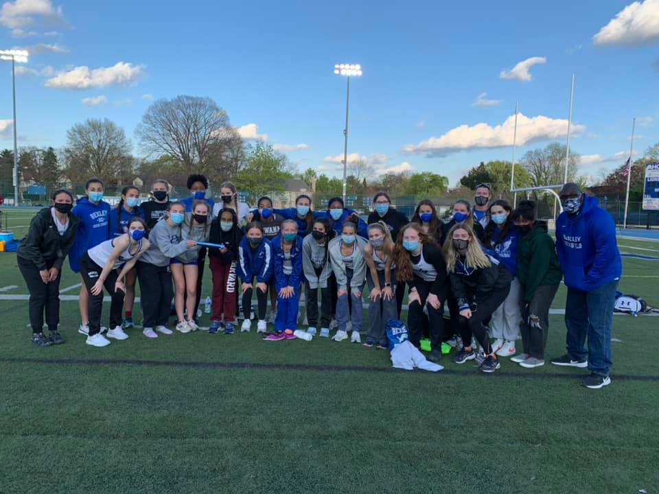 Girls Track and Field Team Dominates Bexley Relays
