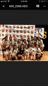 Girls Volleyball Wins Freeway League