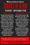 Booster Club Parent Representatives