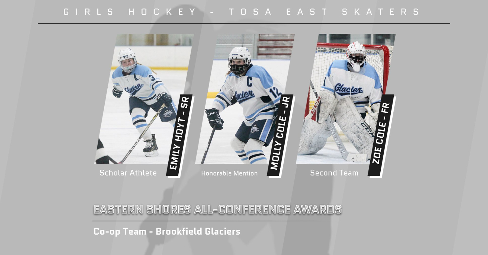 Girls Hockey Earns Conference Honors