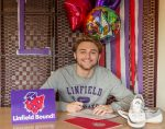 Congratulations to NMHS Senior Daniel Olson!!! Daniel has signed with Linfield College for both Swimming and Track!! Way to go Daniel!