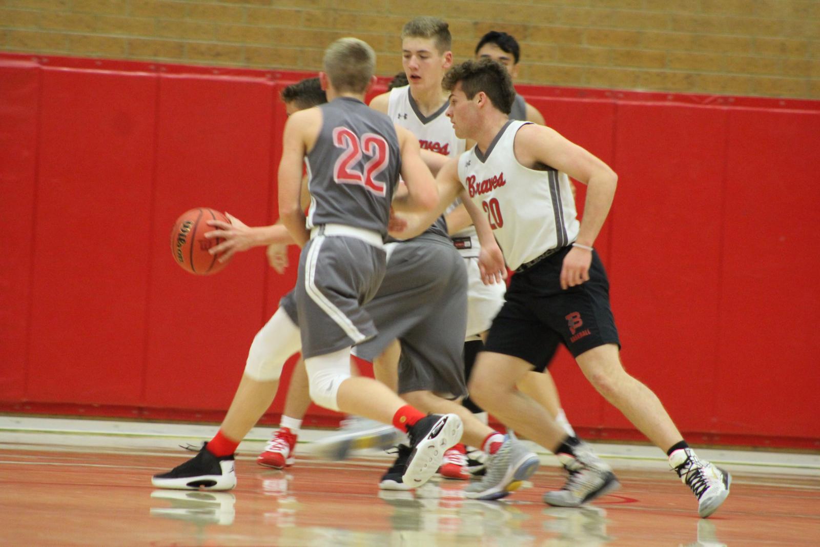 Boys Basketball Opens Season with Old Rival Davis