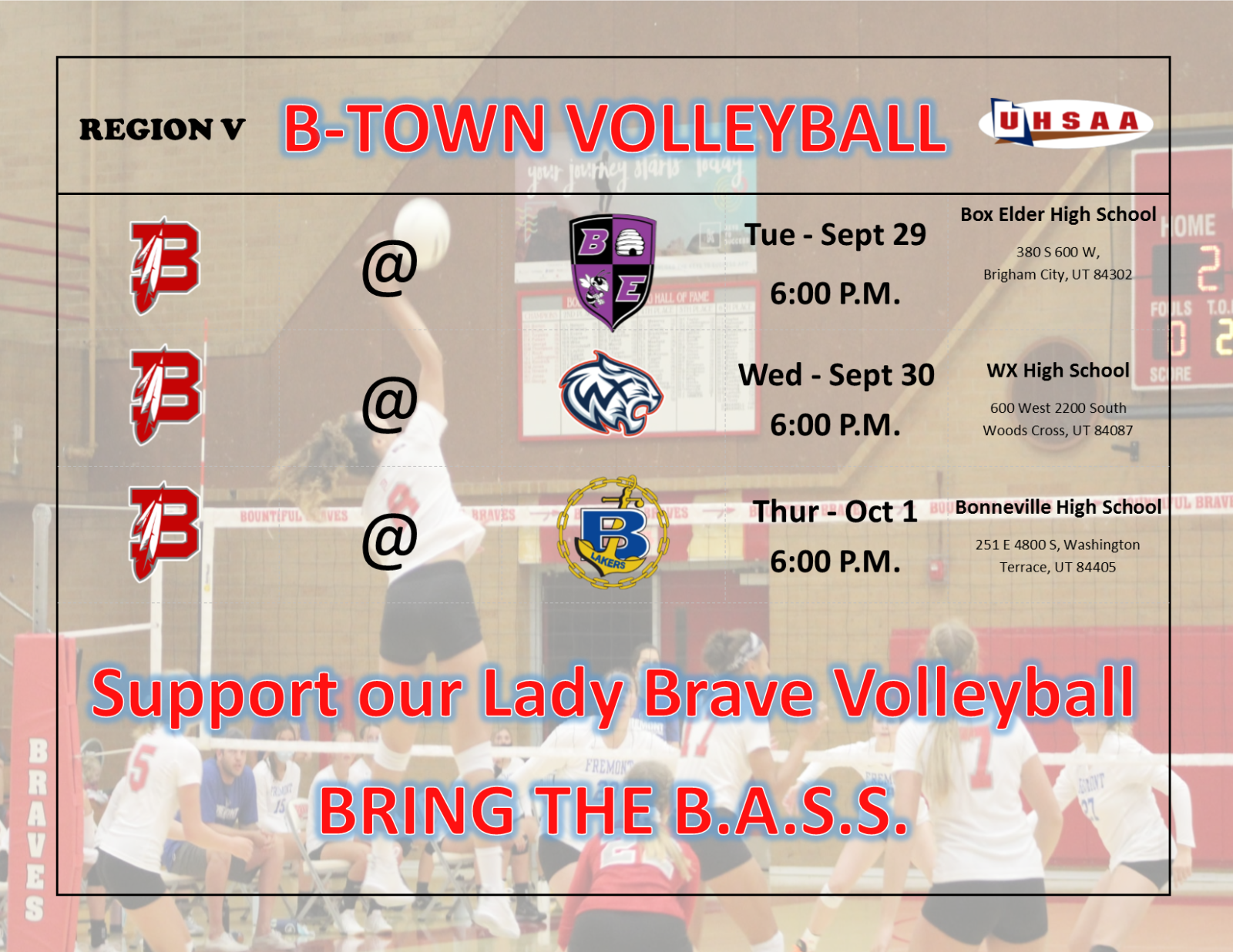 Lady Brave Volleyball is Back