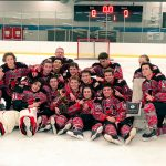 Hockey team wins Adam Hamilton Tournament!