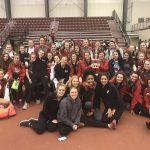Lady Cardinals Track Team takes 1st at NEOITC Indoor/Outdoor Meet