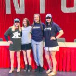 Four Seniors Commit to D1 and D2