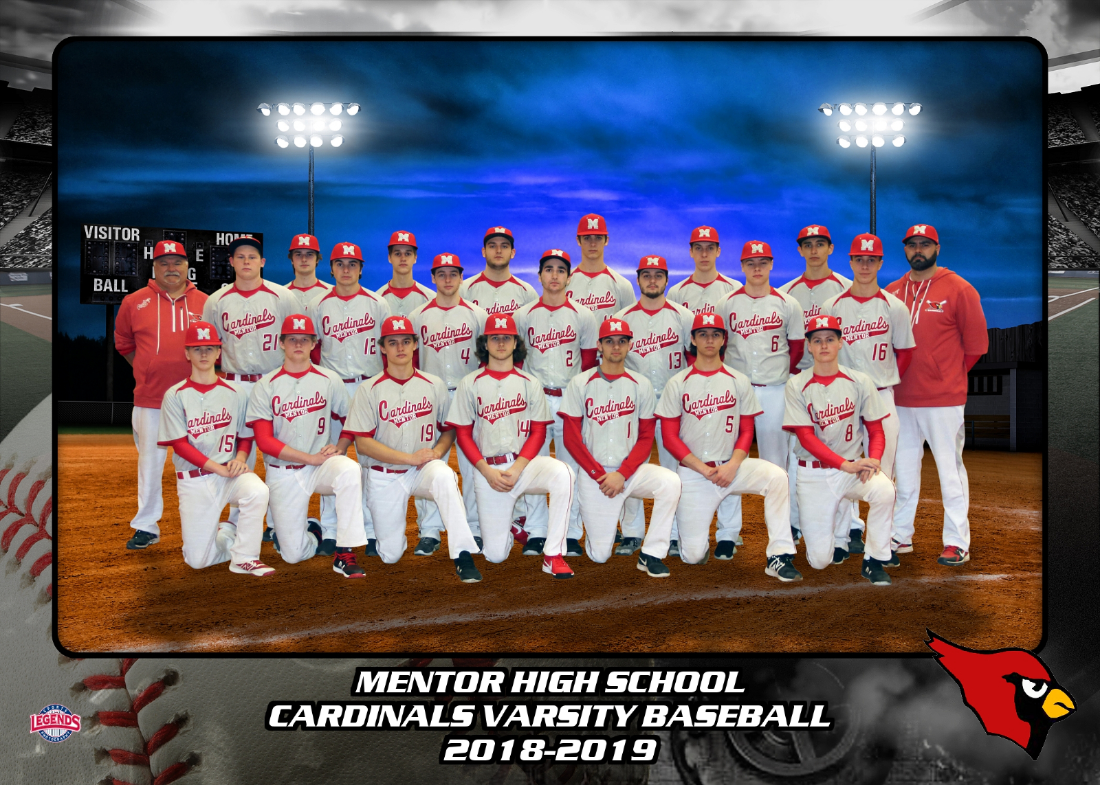 Baseball team send off and ticket link