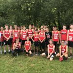 Boys Cross Country finishes 9th at Solon Comet Run Invitational