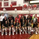Volleyball Wins on Senior Night