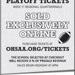 Football playoff ticket information