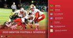Mentor Announces 2020 Football Schedule