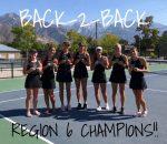 Girls Tennis Champs!