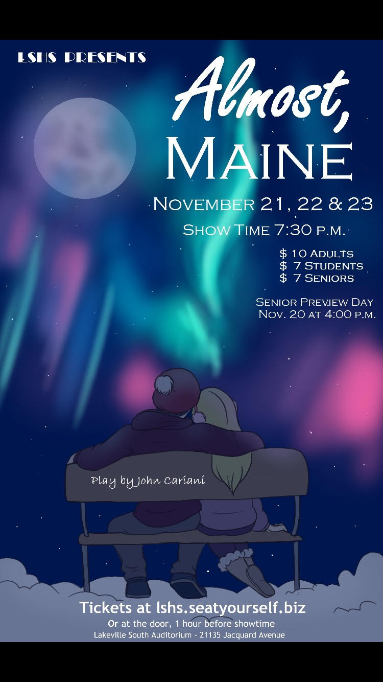 FALL MUSICAL – Almost, Maine