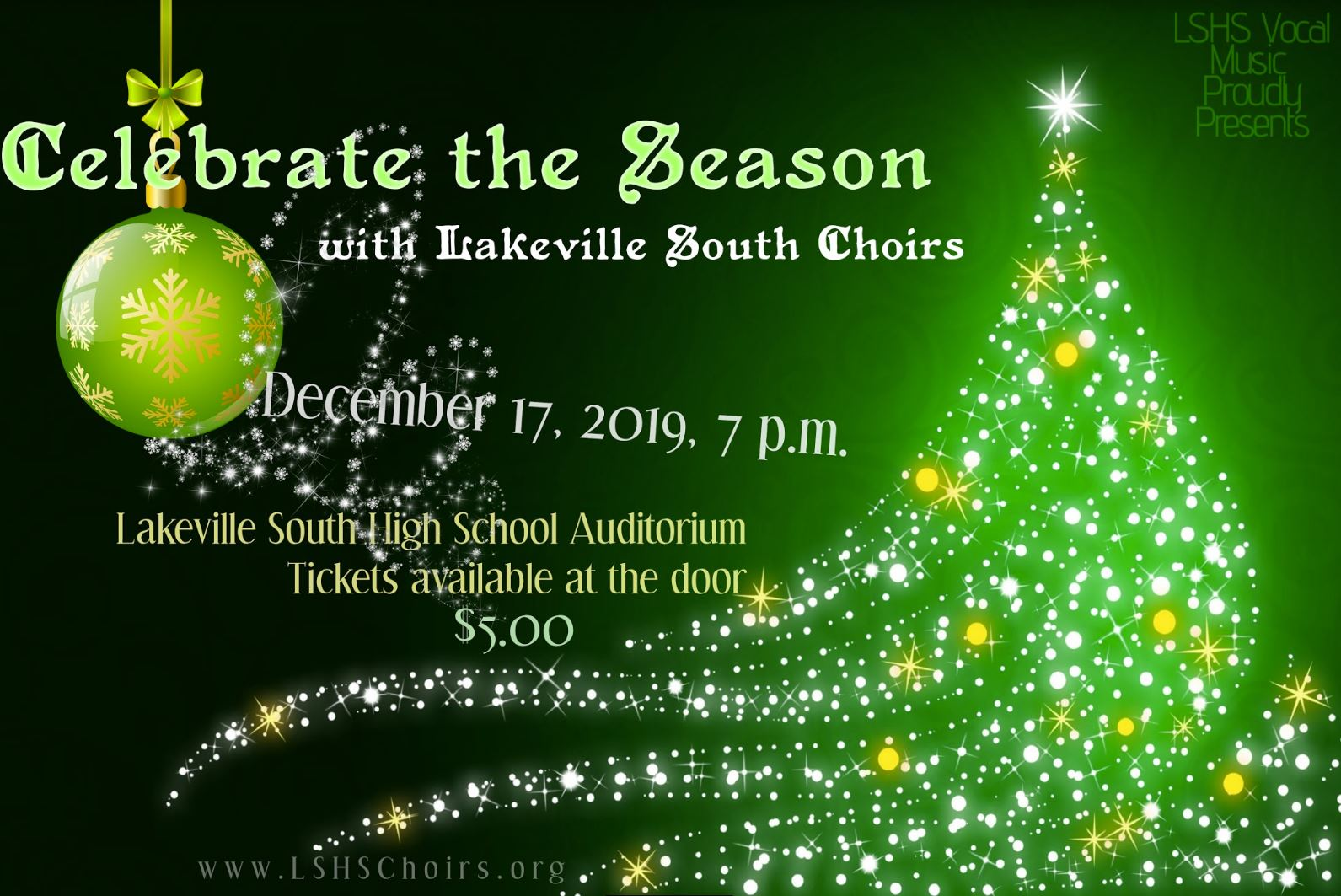 CELEBRATE the SEASON with Lakeville South Choirs