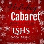 HOLIDAY CABARET – December 19th