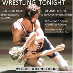 COME CHEER on YOUR COUGAR WRESTLERS…