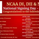 COUGARS SIGNING TODAY…