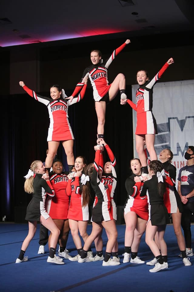 CHEER FINISHES 2nd in STATE