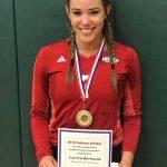 Caitlyn Reynolds an Indiana South All Star