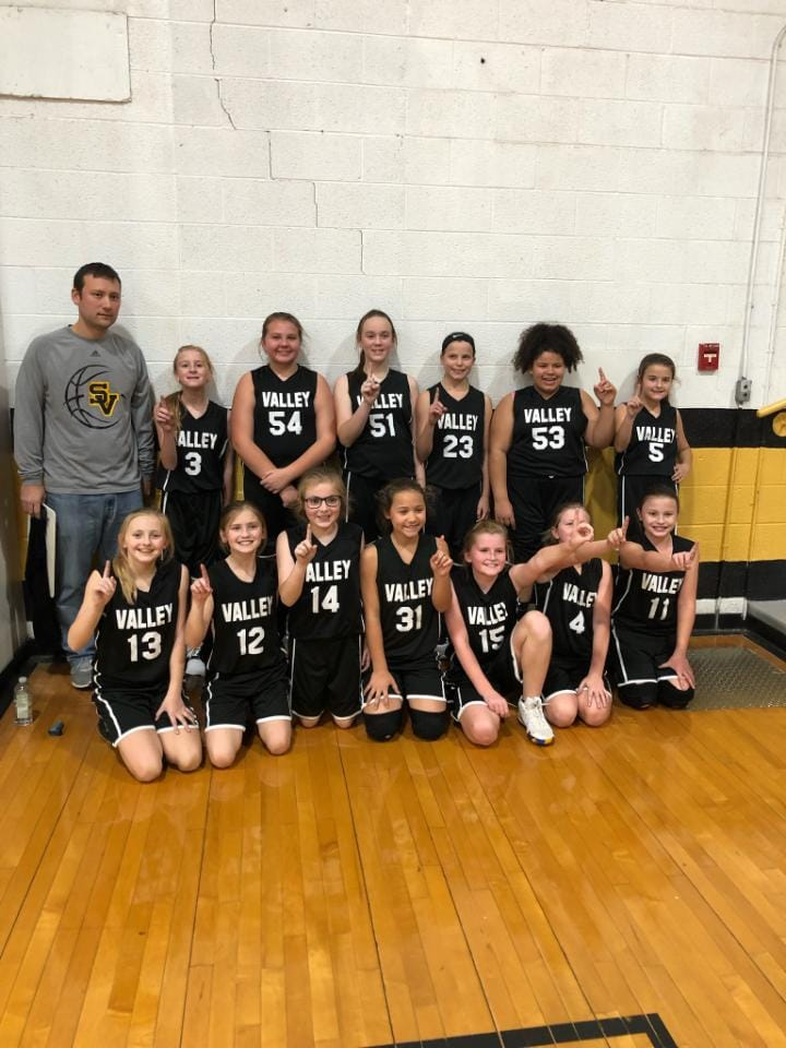 5th Grade Girls Undefeated at 14-0