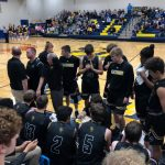 Boys Varsity Basketball beats Evansville Day School 52 – 41