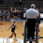Girls Varsity Volleyball beats Rock Creek Community Academy 3 – 2