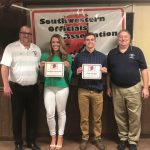 Southwestern Indiana Officials Association Scholarship Winners