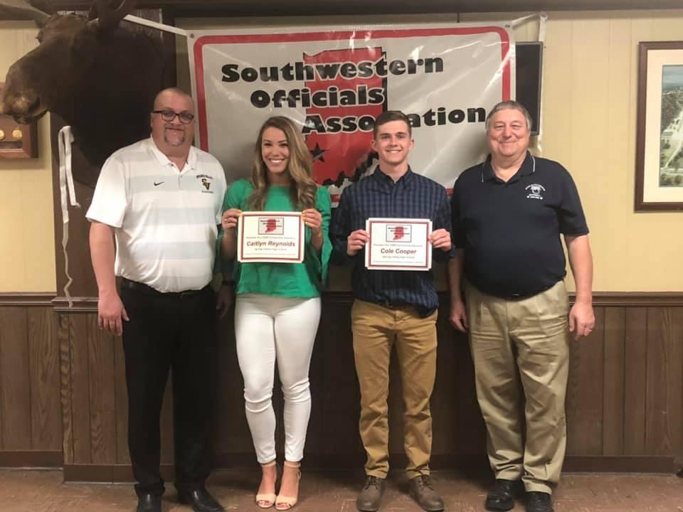 Southwestern Indiana Officials Association Scholarship Winners