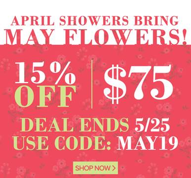 Mother's Day Sale at our online Store