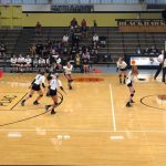 Girls Varsity Volleyball beats Forest Park Jr-Sr 3 – 0