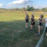 Girls Junior High Cross Country finishes 1st place at Orleans/Shoals/SV