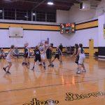 Girls 5/6 Grade Girls Basketball beats Loogootee Jr/Sr 56 – 0