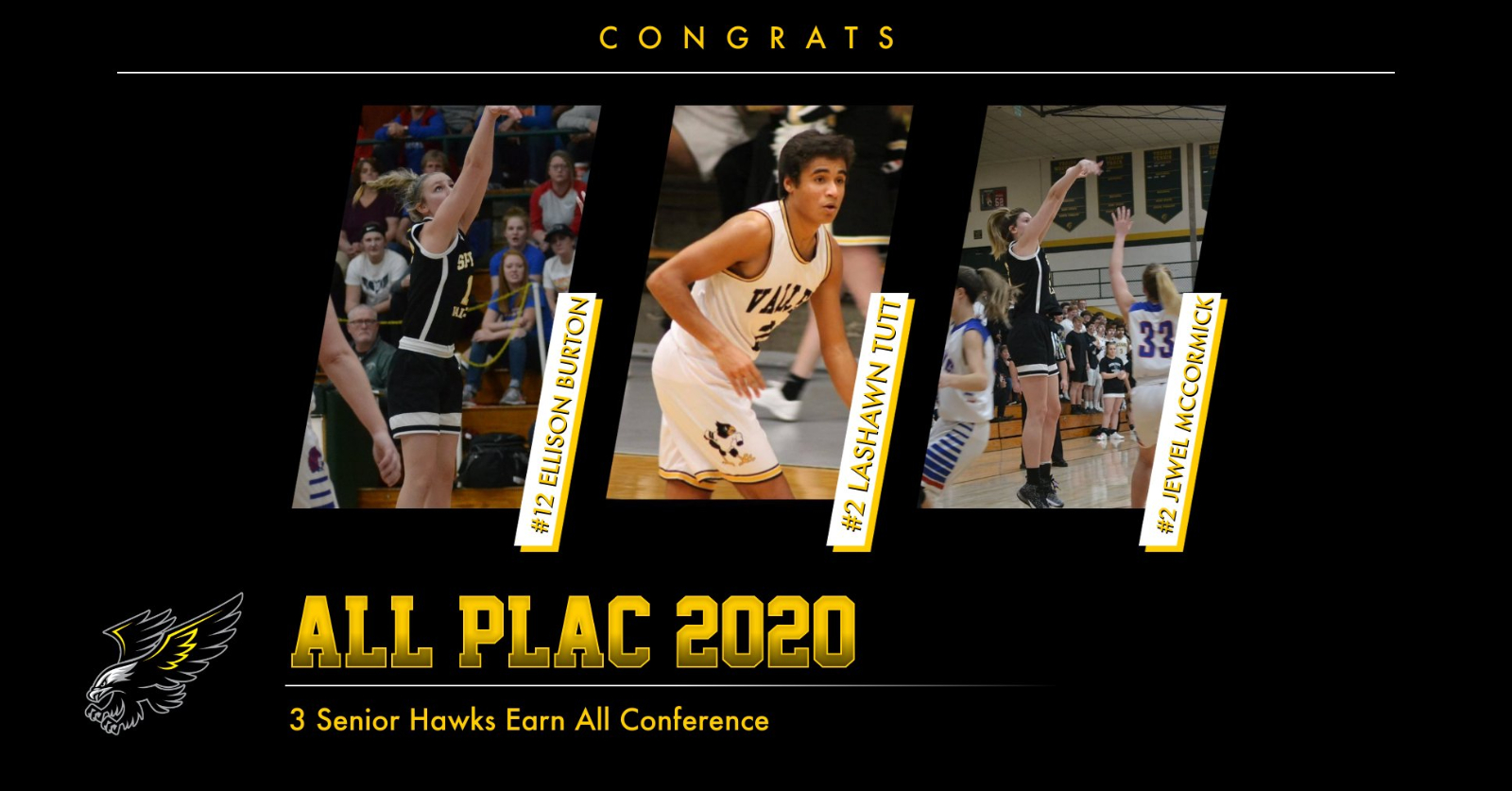 3 Seniors Earn All Conference