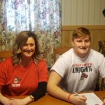 Cameron Money signs with Kentucky Christian