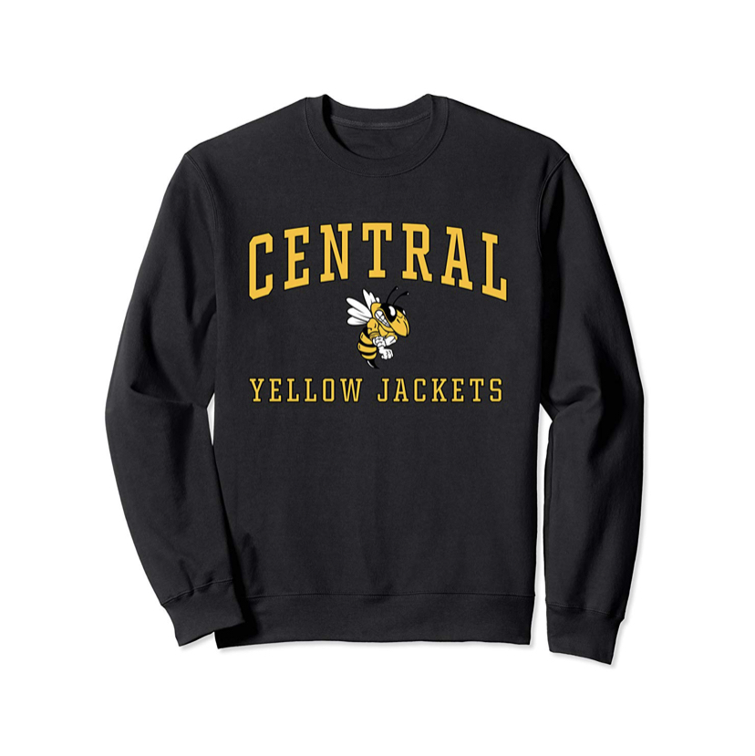 Central Spirit Wear Available on Amazon
