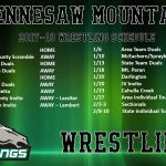 Mustang Wrestling Schedule Released