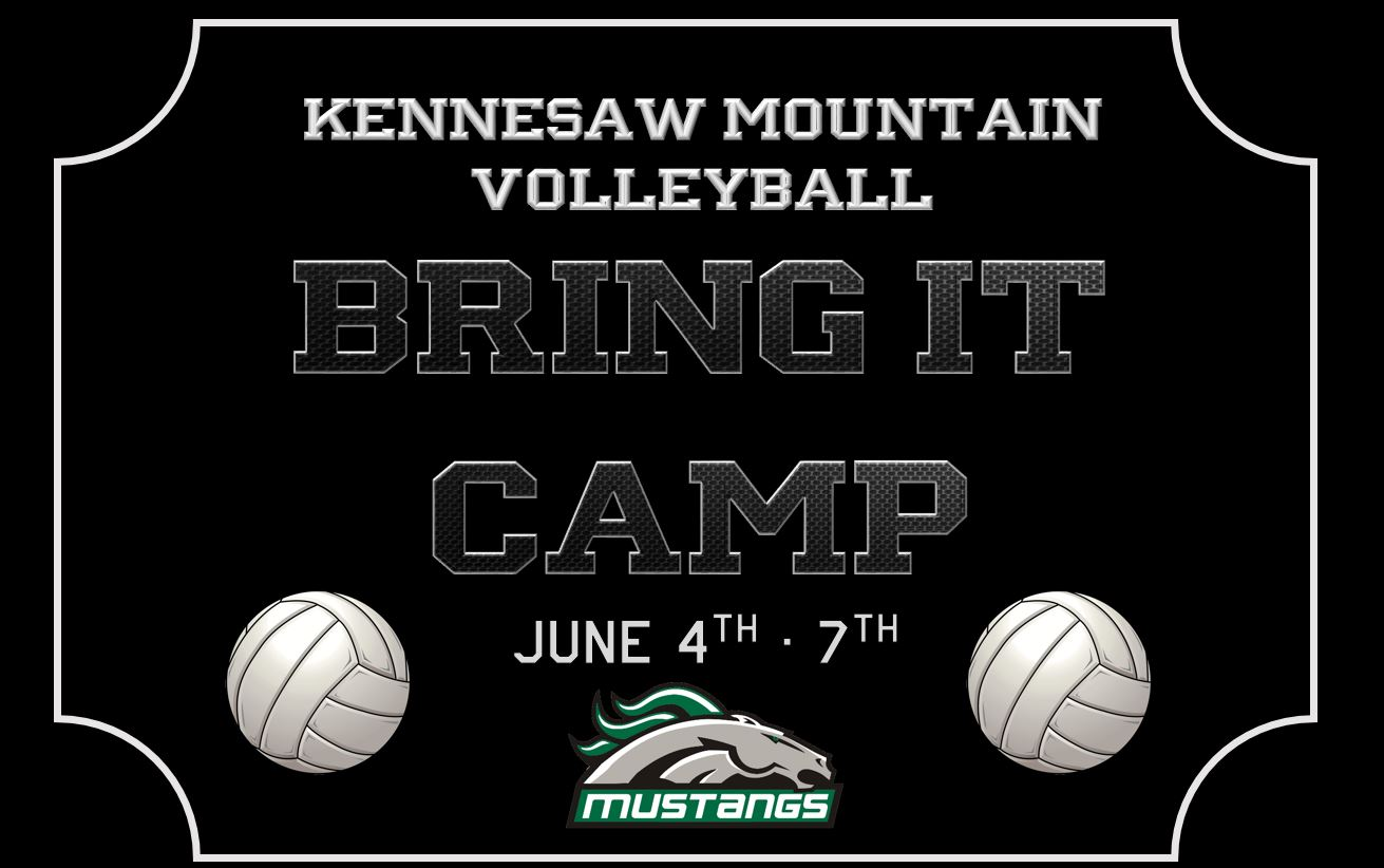 "Mustang Volleyball to host ""Bring It"" Camp this June!"