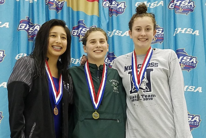 Dixon wins state to lead KMHS Diving!