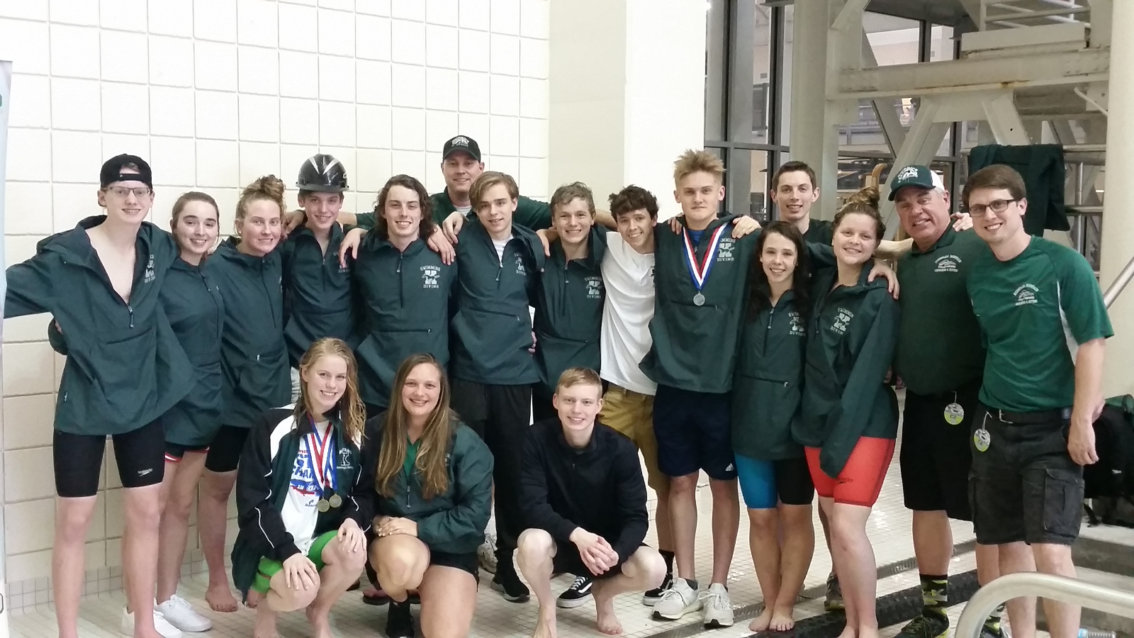 Mustang Swim and Dive has record setting championships!