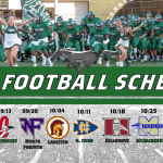 2019 Football Schedule Released!