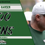 Hansen wins 400th!