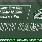 2019 Mustang Basketball Youth Camp