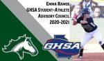 Emma Ramos- GHSA SAAC Representative!